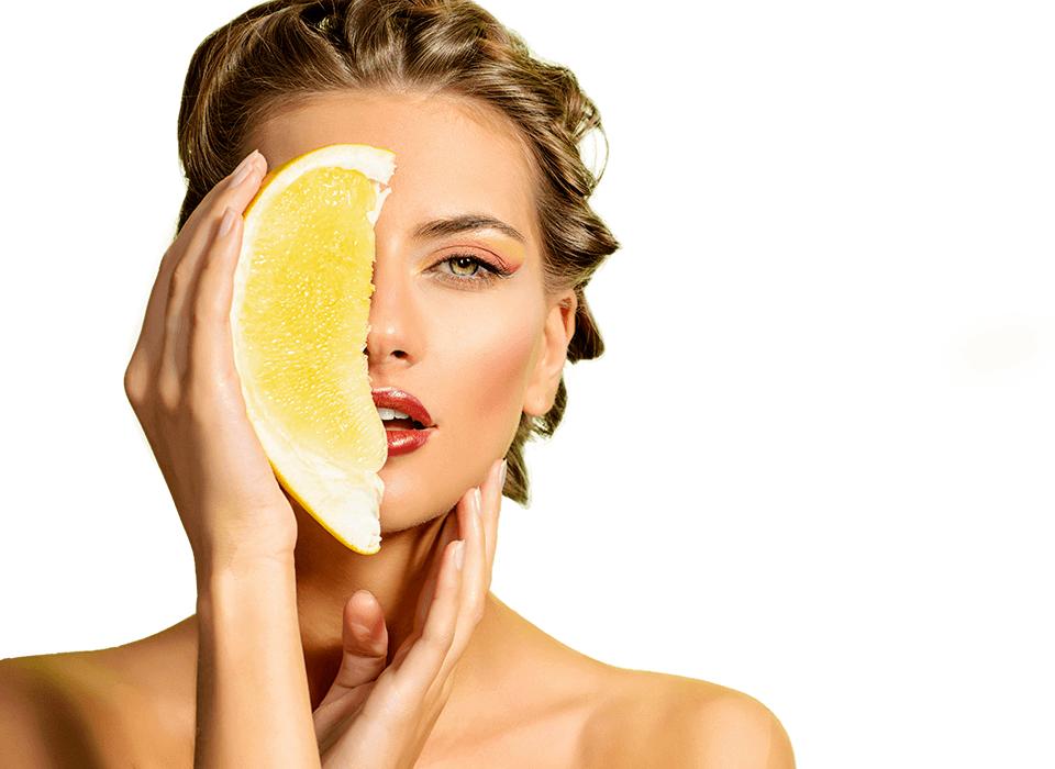 Fruchtsäurepeeling Kosmetikbehandlung