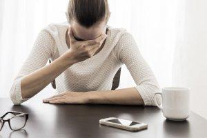Hautausschlag durch psychischen Stress