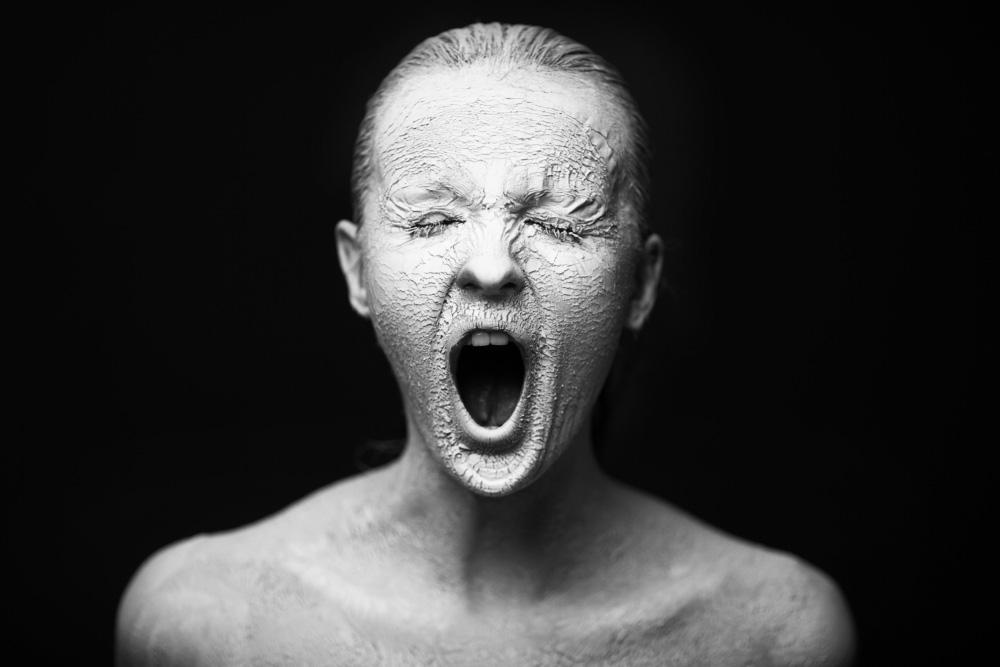 Hautausschlag durch Stress